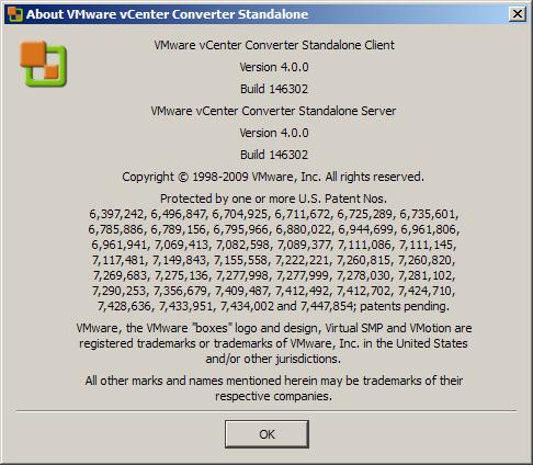 VMprosVMware released new version vCenter Converter 4 0 - VMpros