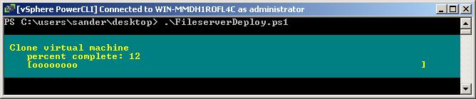 VMprosVMware: Deploy multiple VM's from template with
